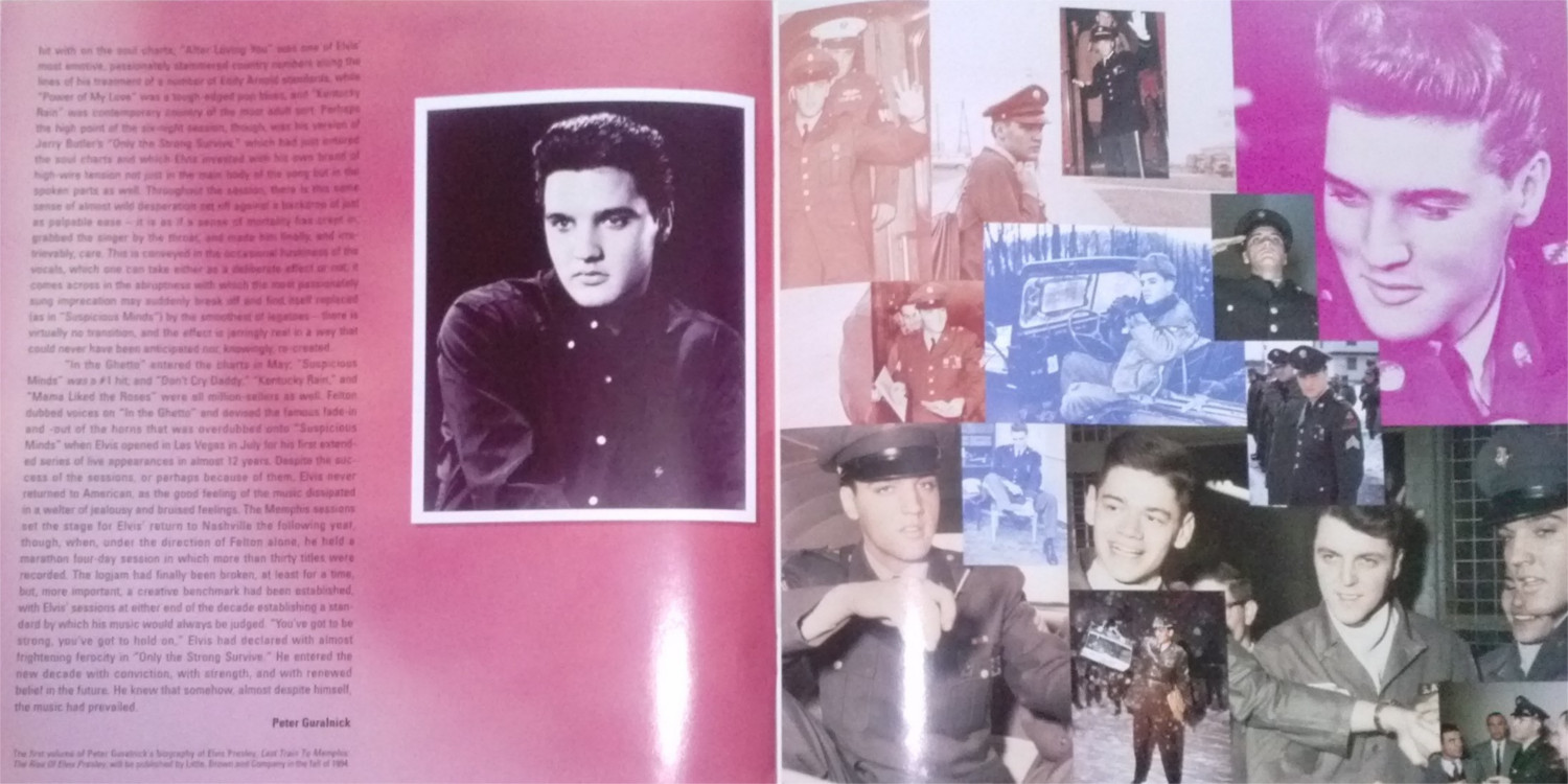 ELVIS - FROM NASHVILLE TO MEMPHIS - THE ESSENTIAL 60'S MASTERS Cam00126cozvp