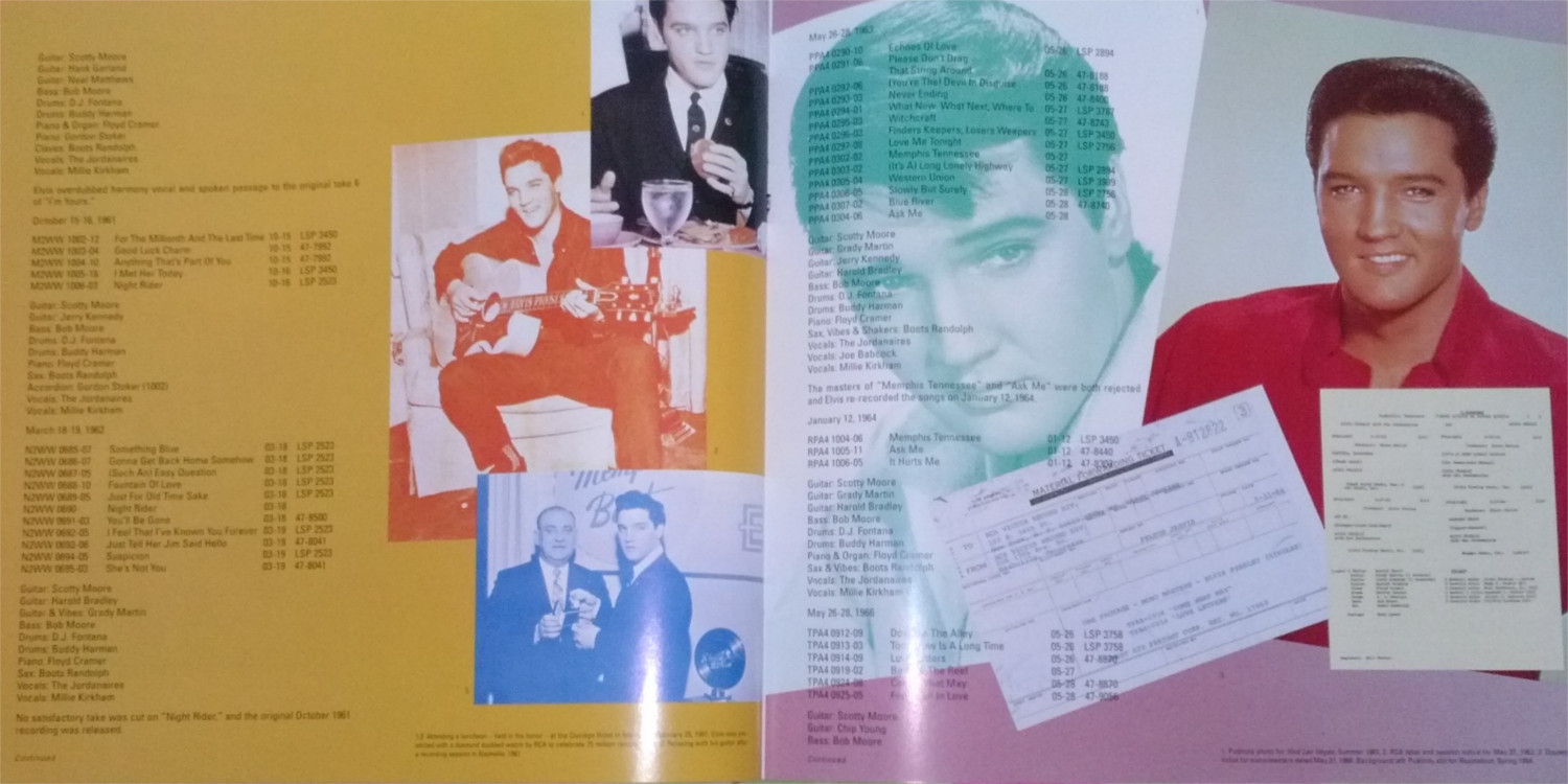 ELVIS - FROM NASHVILLE TO MEMPHIS - THE ESSENTIAL 60'S MASTERS Cam00129oblb4