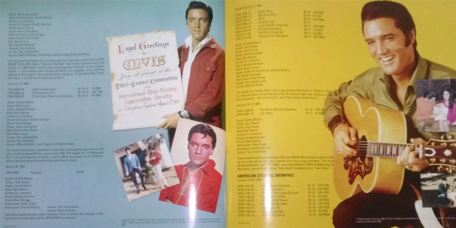 ELVIS - FROM NASHVILLE TO MEMPHIS - THE ESSENTIAL 60'S MASTERS Cam00130doaql