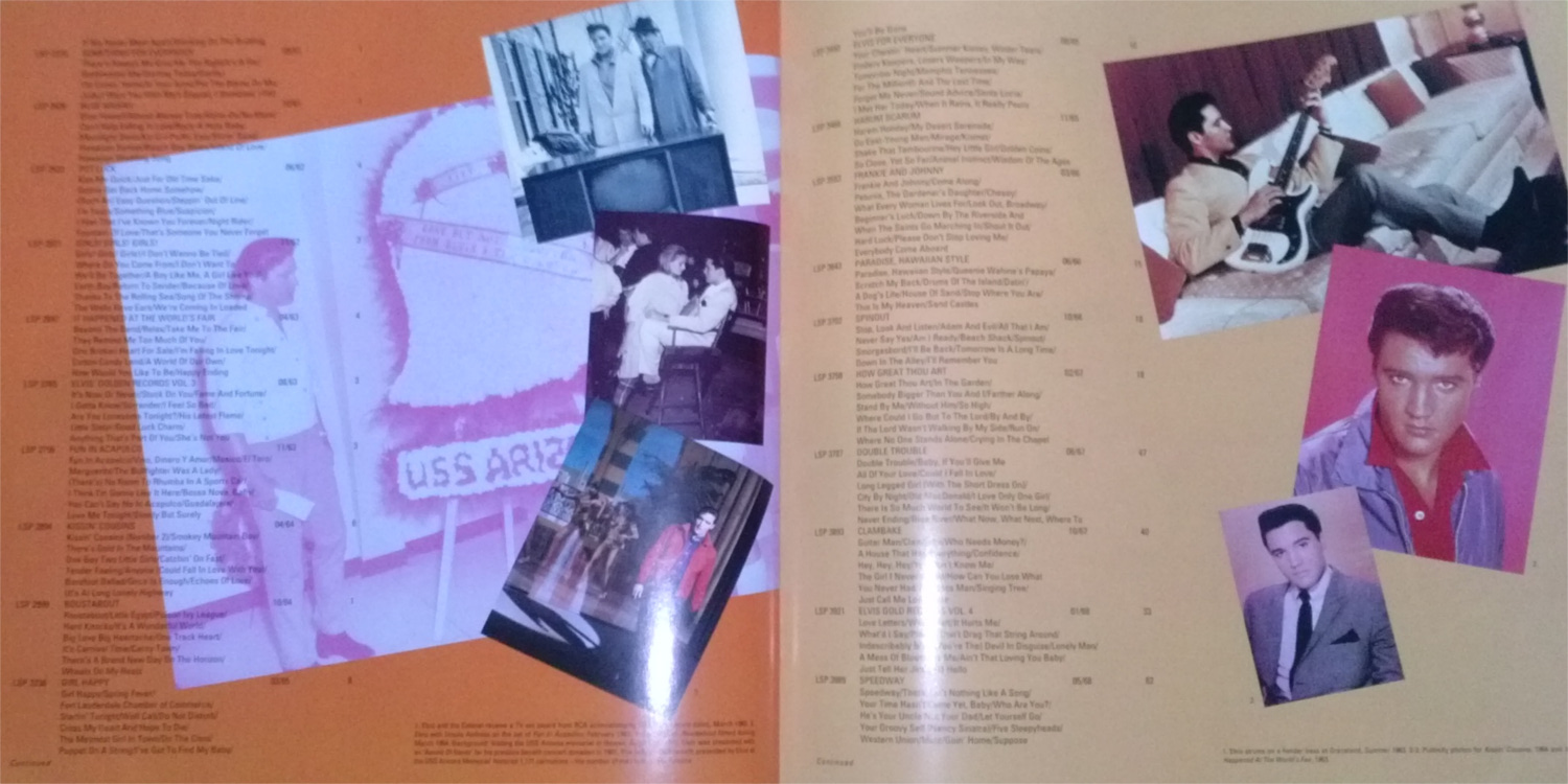 ELVIS - FROM NASHVILLE TO MEMPHIS - THE ESSENTIAL 60'S MASTERS Cam001338jsg0