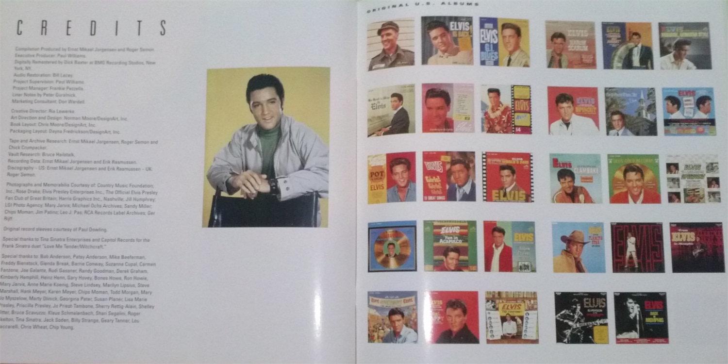 ELVIS - FROM NASHVILLE TO MEMPHIS - THE ESSENTIAL 60'S MASTERS Cam00136lfsf4