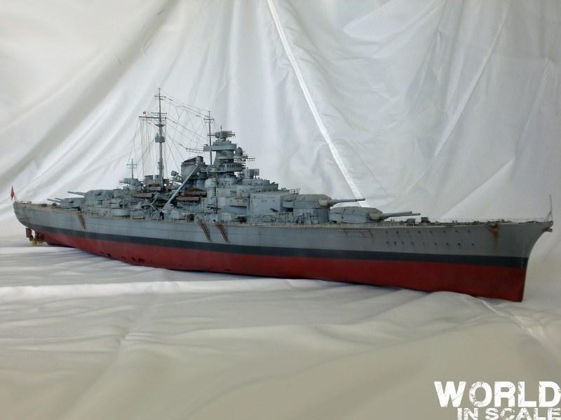 Schlachtschiff BISMARCK - 1/200 v. Trumpeter Cimg3514_800x6007ako9