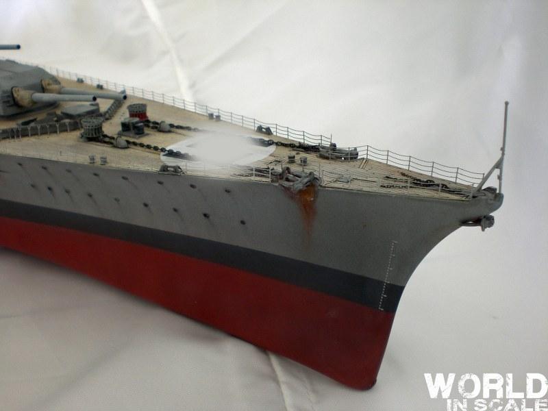 Schlachtschiff BISMARCK - 1/200 v. Trumpeter Cimg3526_800x60074kya