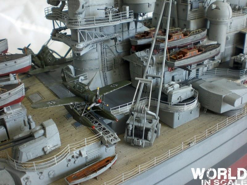 Schlachtschiff BISMARCK - 1/200 v. Trumpeter Cimg3537_800x600cwzbv
