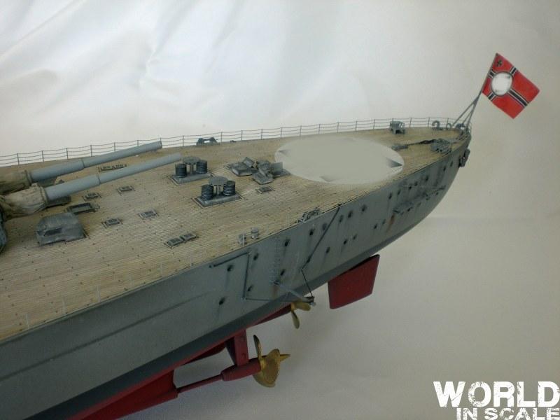 Schlachtschiff BISMARCK - 1/200 v. Trumpeter Cimg3593_800x6007mjro