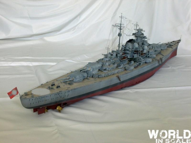 Schlachtschiff BISMARCK - 1/200 v. Trumpeter Cimg3657_800x600foapx