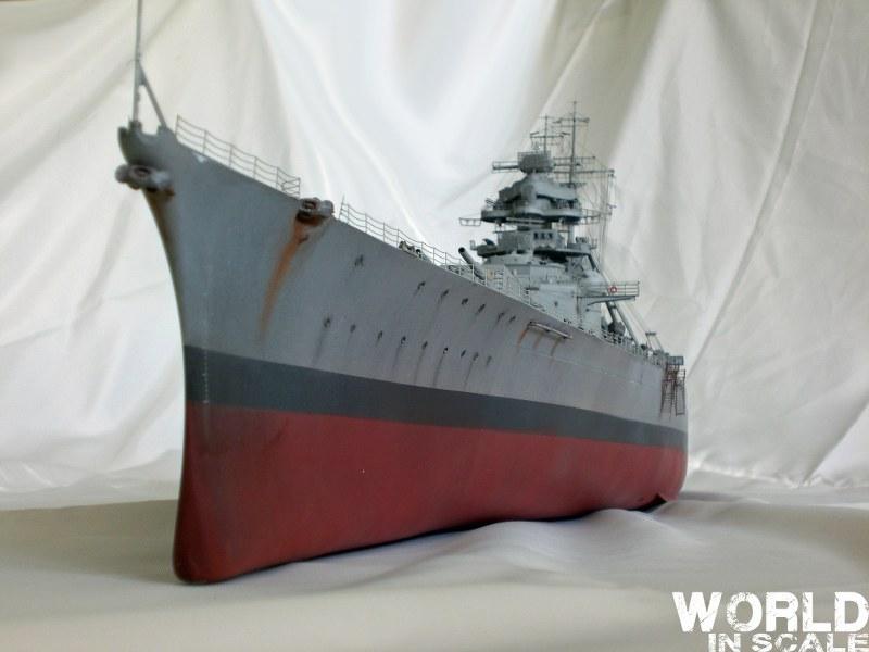 Schlachtschiff BISMARCK - 1/200 v. Trumpeter Cimg3665_800x600o5kek