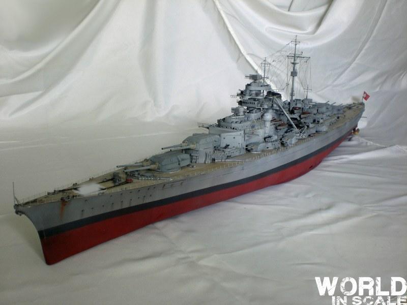 Schlachtschiff BISMARCK - 1/200 v. Trumpeter Cimg3693_800x60038xb9