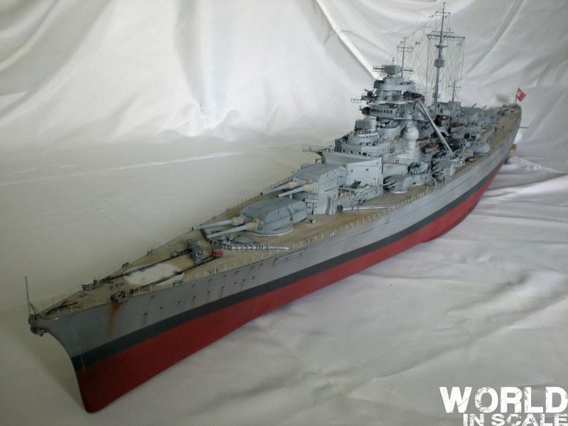 Schlachtschiff BISMARCK - 1/200 v. Trumpeter Cimg3695_800x600r2yx4