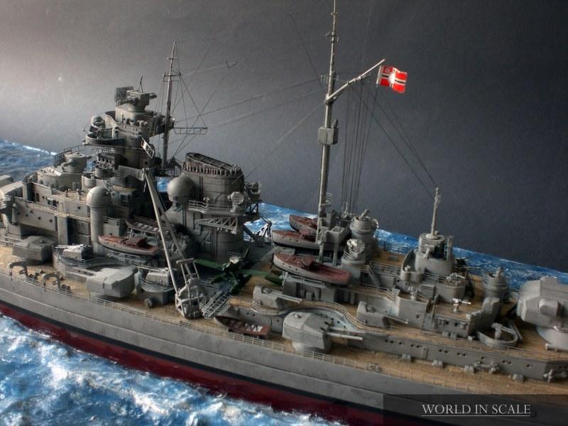 Schlachtschiff BISMARCK - 1/350 v. Revell Cimg4285_800x60041co9