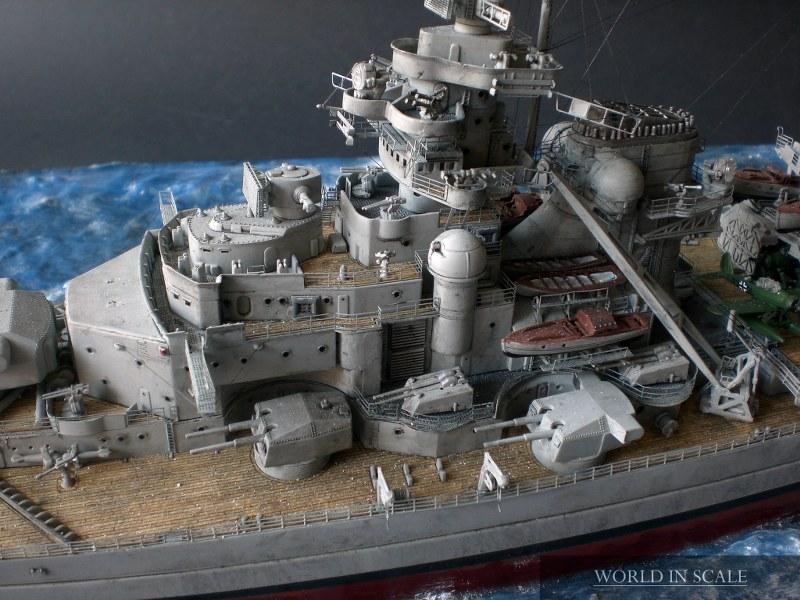 Schlachtschiff BISMARCK - 1/350 v. Revell Cimg4290_800x600wqf3l