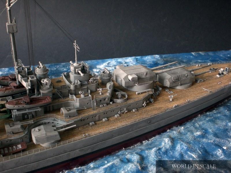 Schlachtschiff BISMARCK - 1/350 v. Revell Cimg4292_800x600q8duf