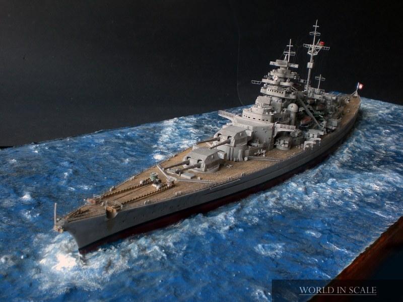 Schlachtschiff BISMARCK - 1/350 v. Revell Cimg4297_800x600smfsj