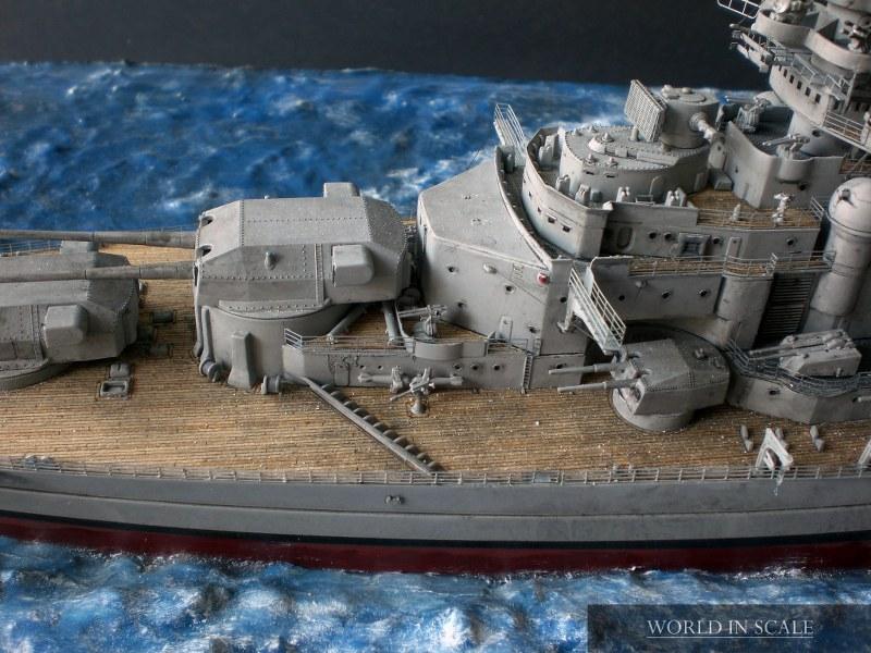 Schlachtschiff BISMARCK - 1/350 v. Revell Cimg4318_800x60017c4h