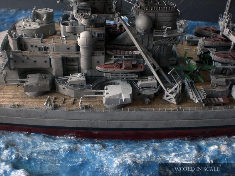 Schlachtschiff BISMARCK - 1/350 v. Revell Cimg4319_800x600j7e6t