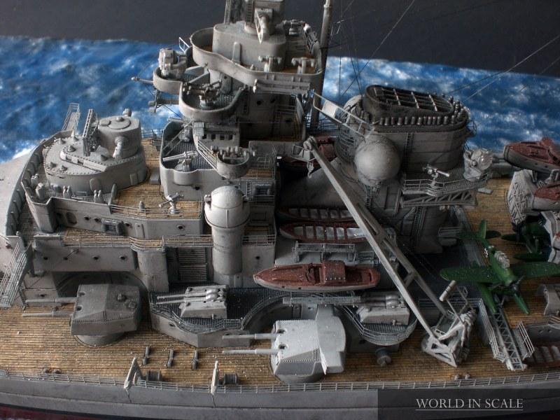 Schlachtschiff BISMARCK - 1/350 v. Revell Cimg4320_800x6004tenj