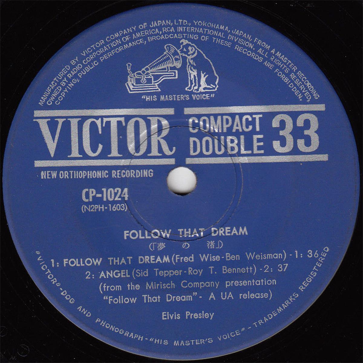 FOLLOW THAT DREAM Cp-1024e2zdgj