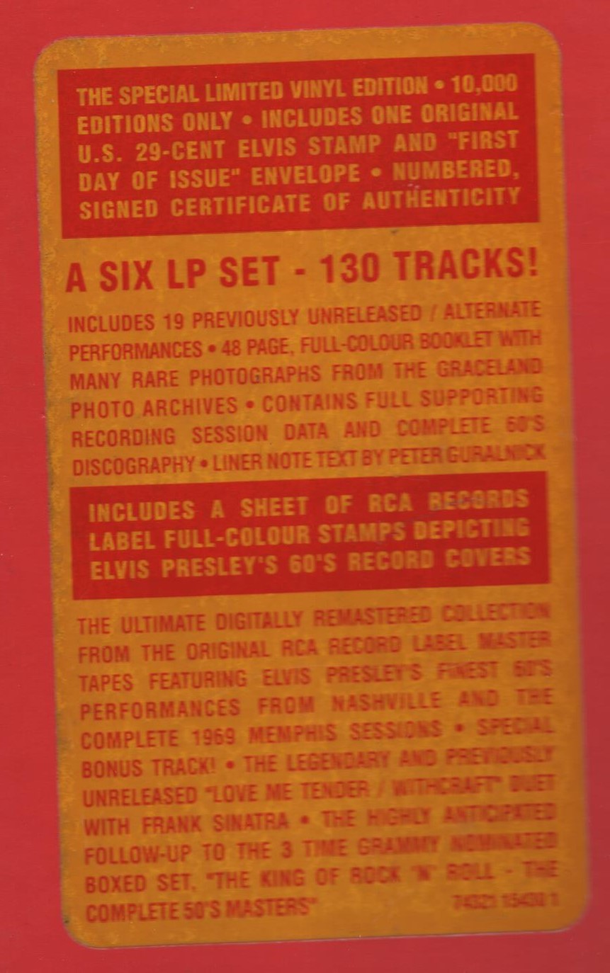 ELVIS - FROM NASHVILLE TO MEMPHIS - THE ESSENTIAL 60'S MASTERS Img1hksos