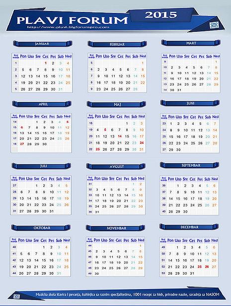 2015 - 09-POKLON ZA SVE CLANOVE FORUMA Kalendarttuii