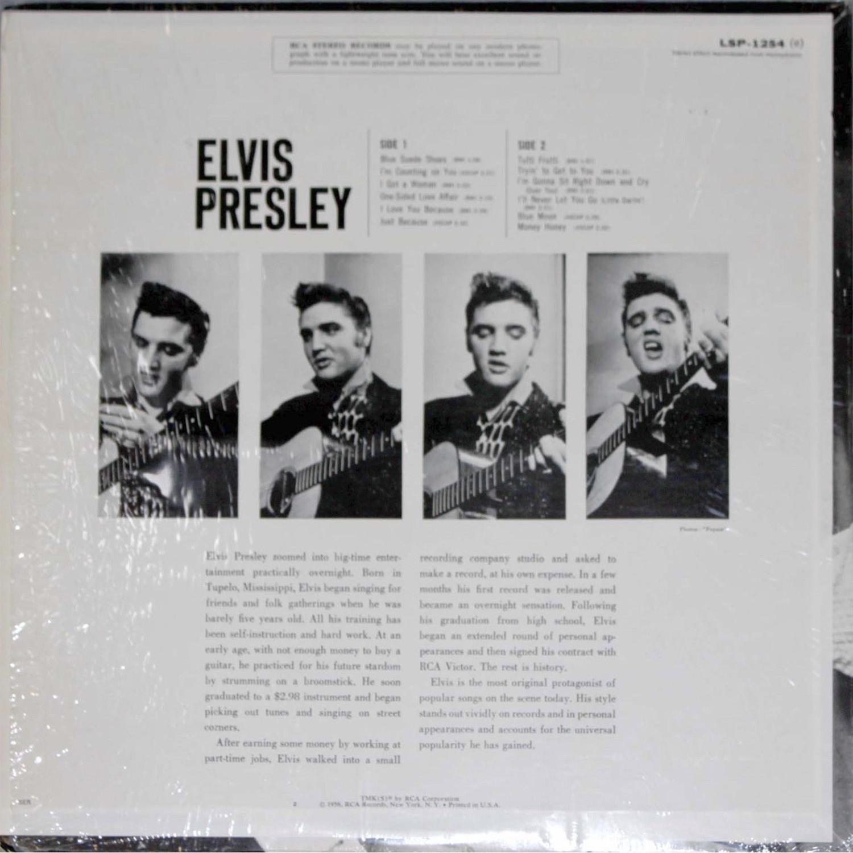 ELVIS PRESLEY Lsp1254bktjjv