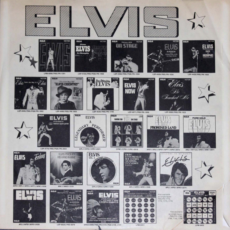 ELVIS PRESLEY Lsp1254cb9j64