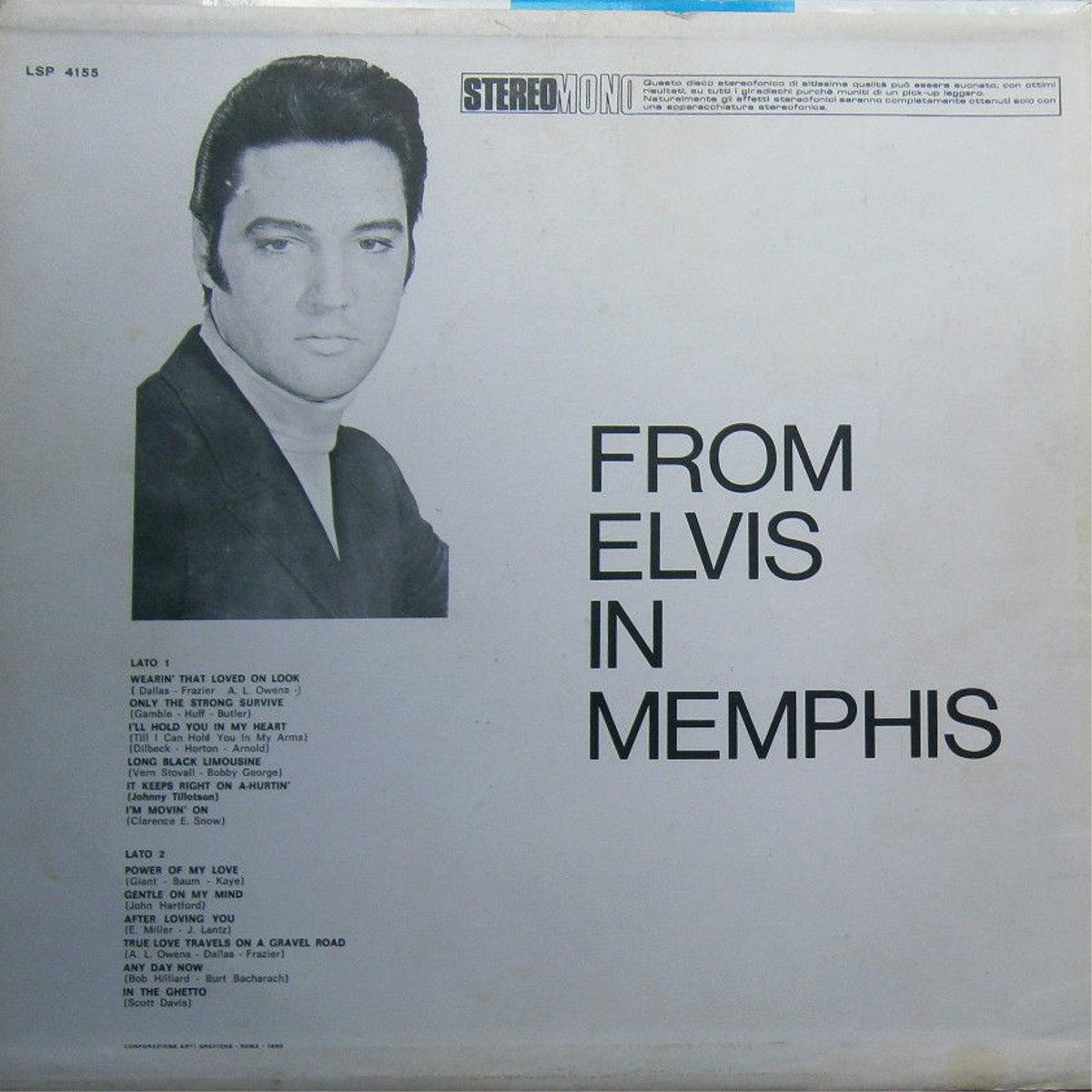 FROM ELVIS IN MEMPHIS Lsp4155bdksb6