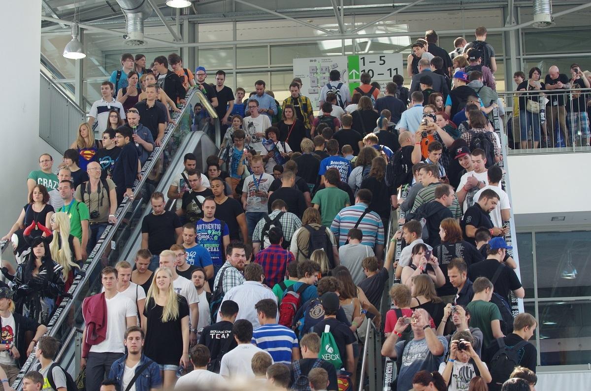 Erste Eindrücke von der Gamescon Köln Messe10i7xmo
