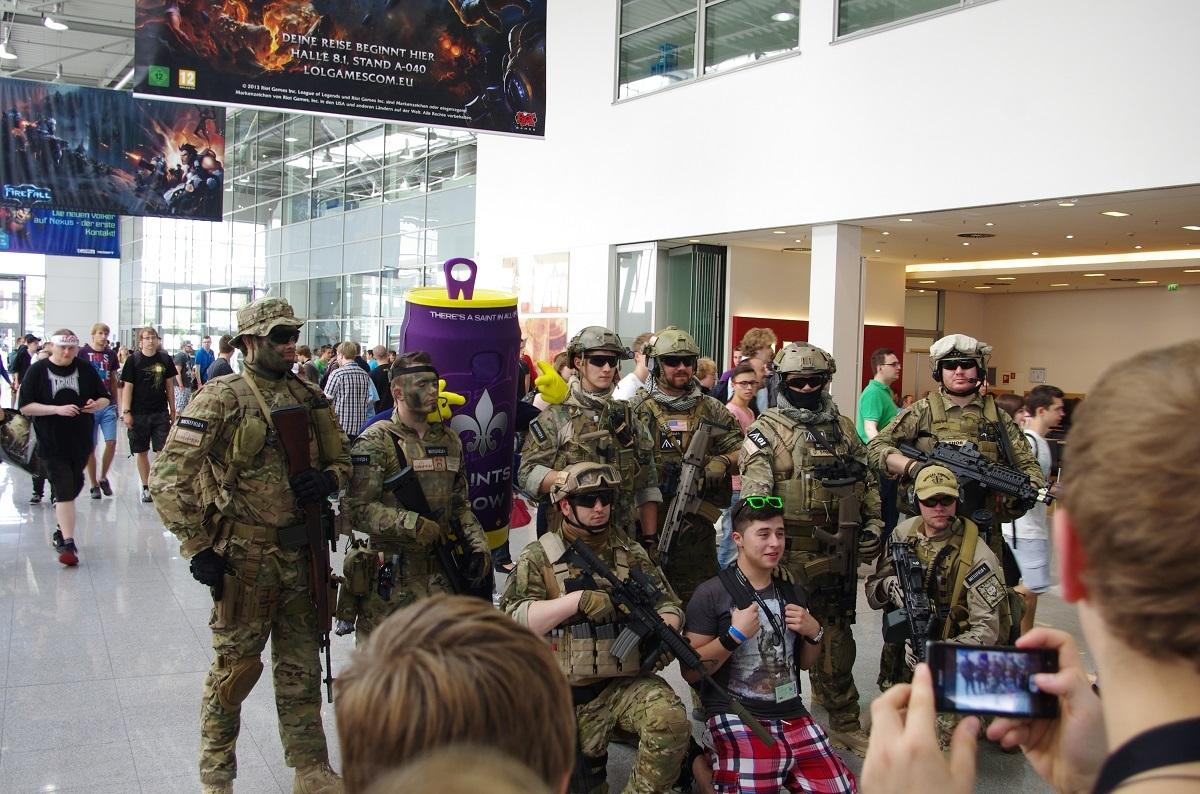 Erste Eindrücke von der Gamescon Köln Messe14dyyhh