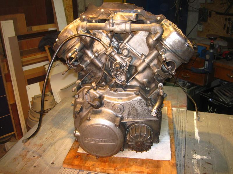 Öldruck Kontrollleuchte Motordreinigen1986brss7