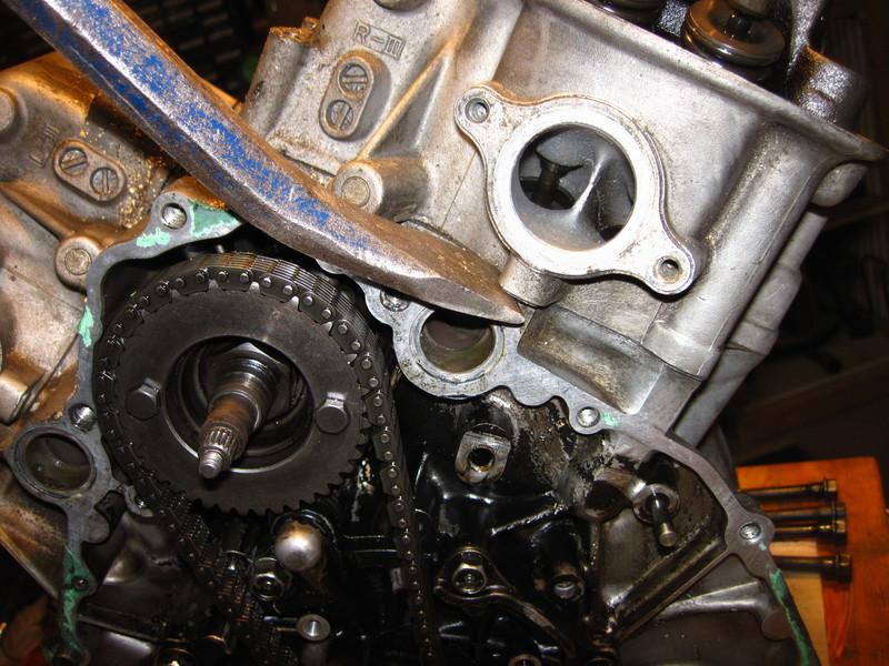 Motor verliert Öl Motordzylinderkopfrecu1fnr