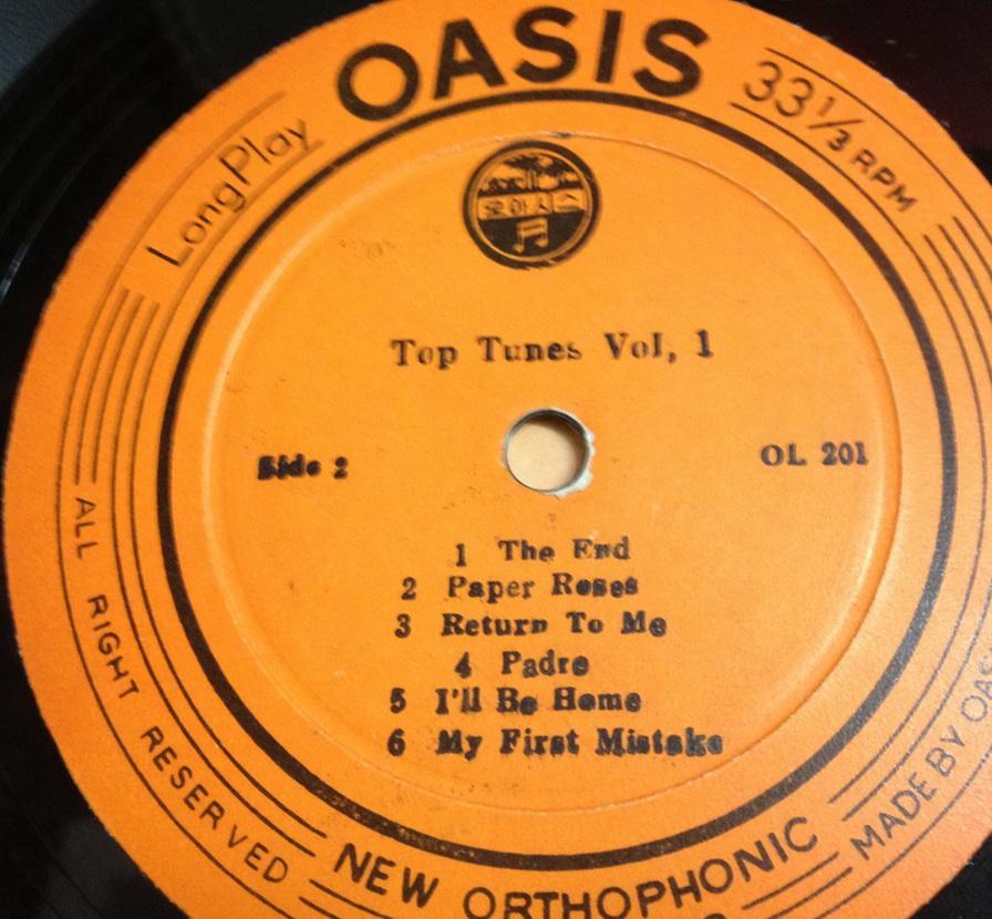 OASIS THE BEST OF TOP TUNES Vol.I Ol201cdrac5