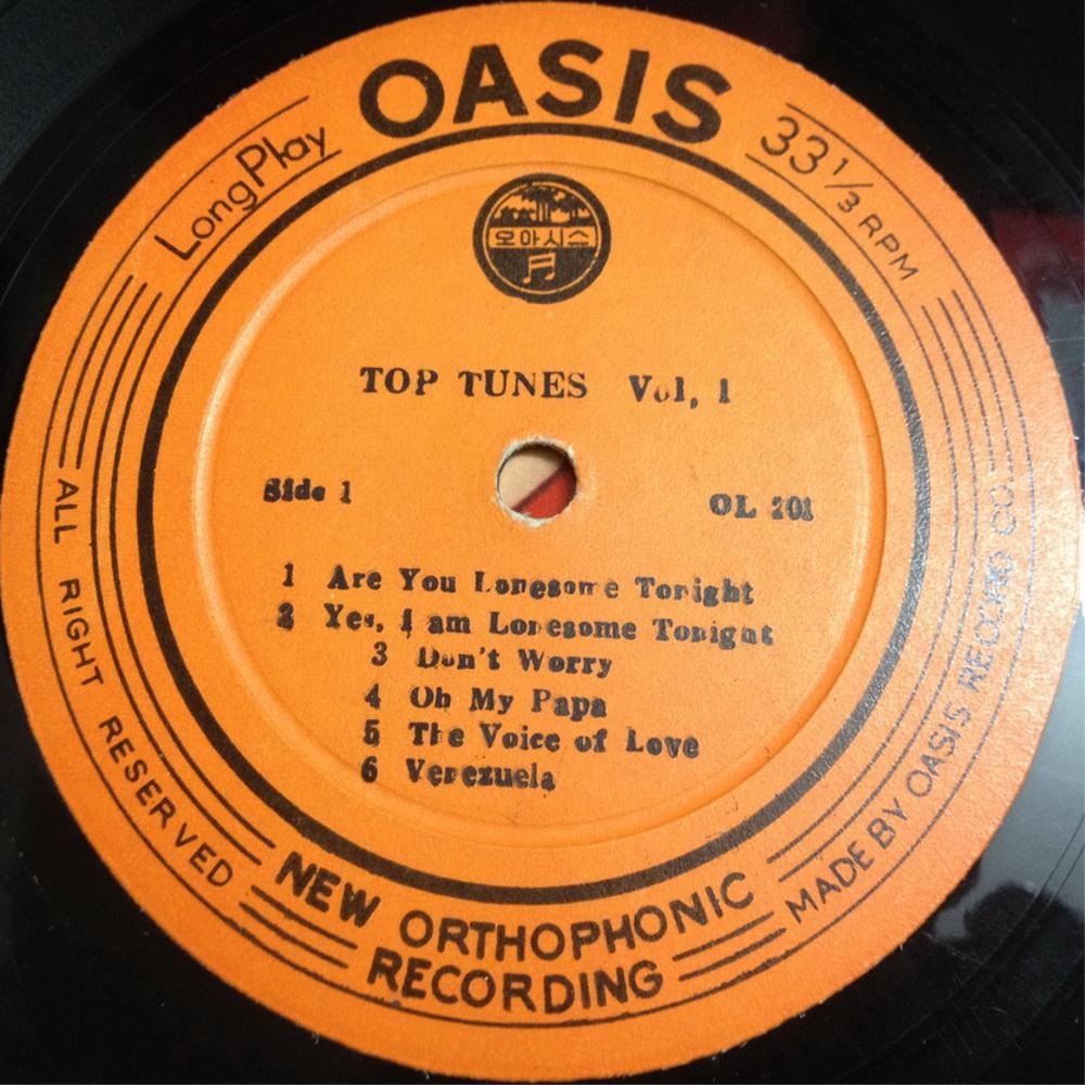 OASIS THE BEST OF TOP TUNES Vol.I Ol201drfzp6