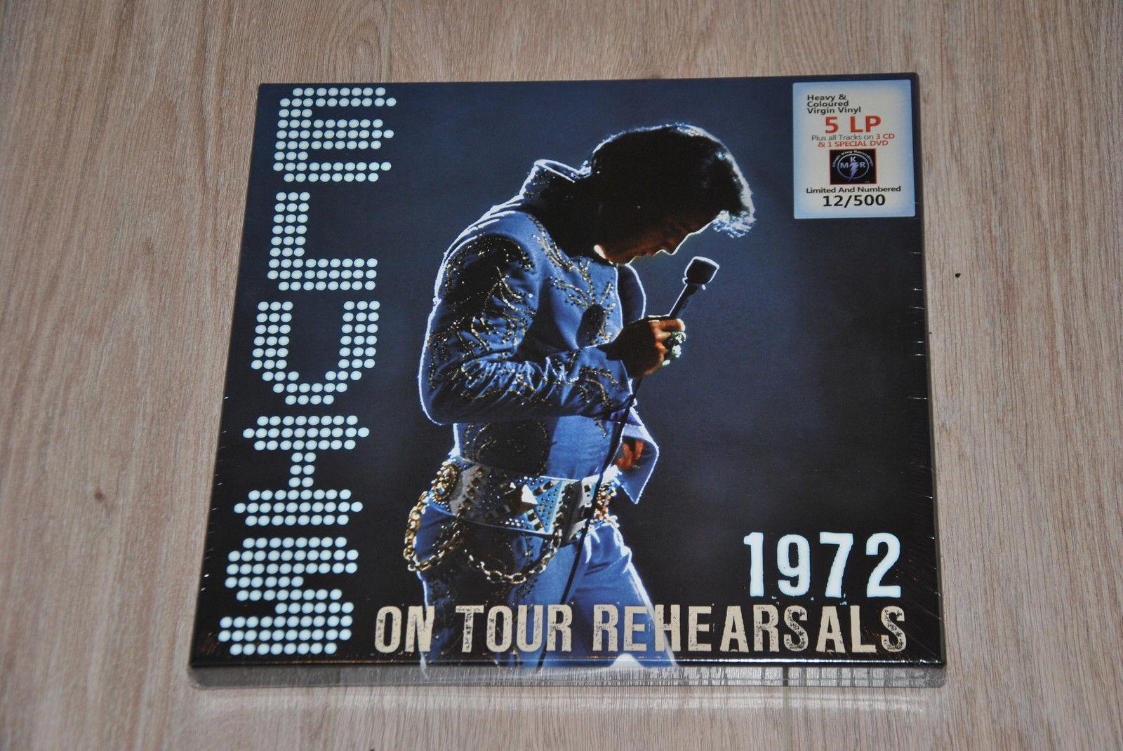 Elvis On Tour Rehearsals: 1972 Ontouraqxpjv