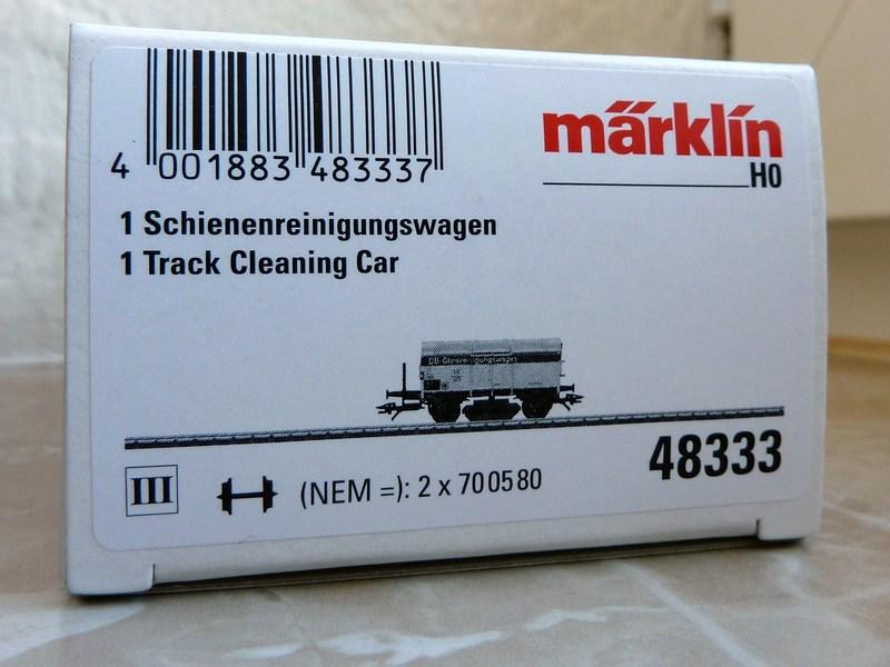 """Märklin 48334 Sonderwagen Info-Tage 2014 ,,Lokstreusand"""" P110017374sqg"""
