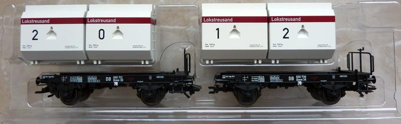 """Märklin 48334 Sonderwagen Info-Tage 2014 ,,Lokstreusand"""" P1120520zos54"""