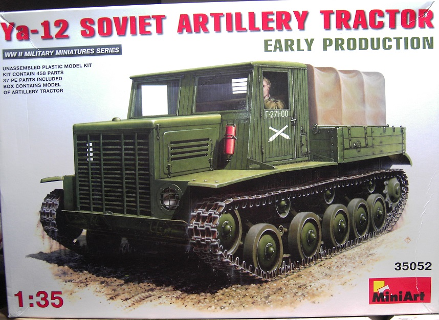 MiniArt Soviet Artillery Tractor Ya-12 in 1:35 Pict4012kaupe