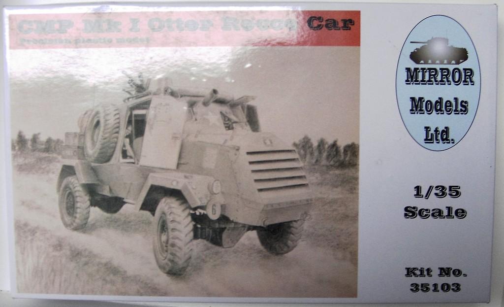 CMP Mk I Otter Recce Car  Pict46452qnsoe