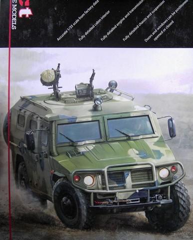 XActModels - GAZ-233014 Russian Jeep Tiger 1:35 Pict49582qoj5e