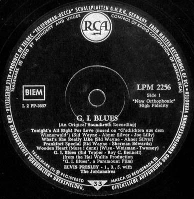 RCA LP-Label-Spiegel der Bundesrepublik Deutschland S6monotyu8a