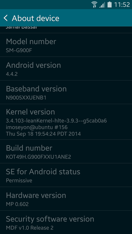 [SGN3][ROM 4.4.2][SM-N9005]Galaxy S5 Stock ROM - Final v21.0 - Clean, Fast and Stable Samsung Galaxy Note3 Screenshot_2014-09-26weedi