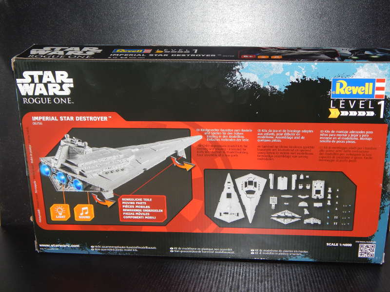 Revell 06756 Imperial Star Destroyer / StarWars Rogue One Sd-02jraom