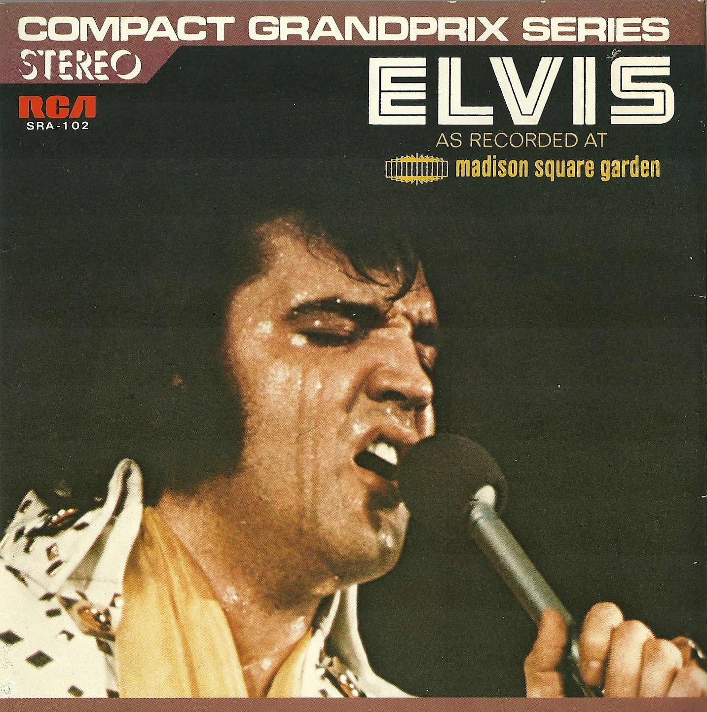 ELVIS - AS RECORDED AT MADISON SQUARE GARDEN Sra-102ayiqug