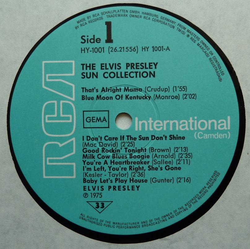 THE ELVIS PRESLEY SUN COLLECTION Suncoll75dside1c4uzf