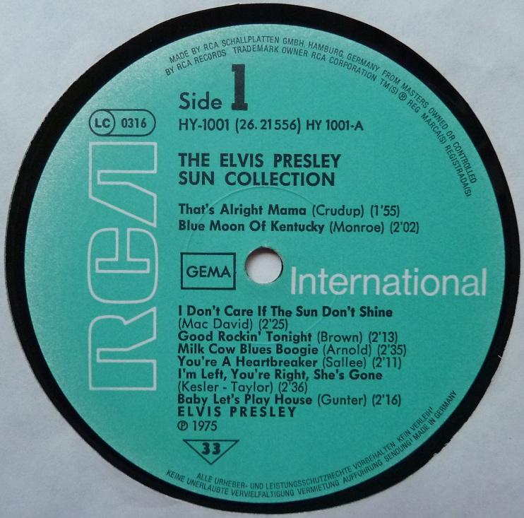 THE ELVIS PRESLEY SUN COLLECTION Suncoll77dside1tbbjk