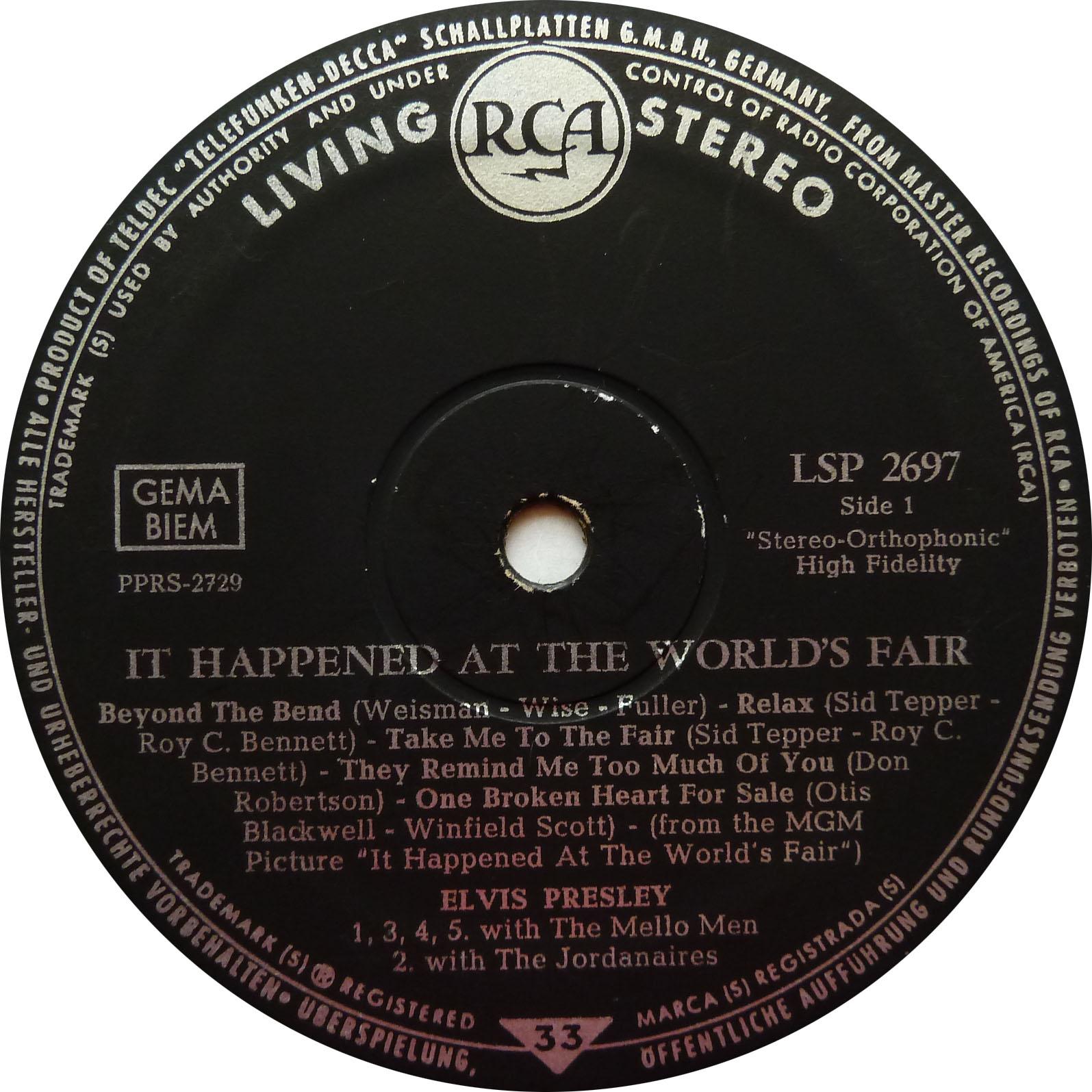 IT HAPPENED AT THE WORLD FAIR Worldsfair63lspside11bjdx