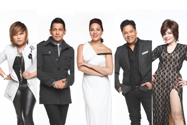"06/20/12 - ABS-CBN PR - ""THE X FACTOR PHILIPPINES"" PREMIERES THIS SATURDAY The-X-Factor-Phillipines-Judge-Mentors-and-Host-2"