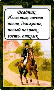 «Мистическо-Магические значения карт Ленорман»  01-1