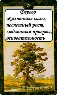 «Мистическо-Магические значения карт Ленорман»  05