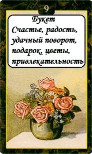 «Мистическо-Магические значения карт Ленорман»  09
