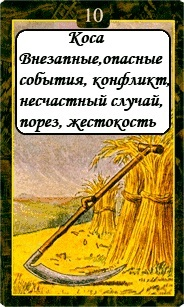 «Мистическо-Магические значения карт Ленорман»  10